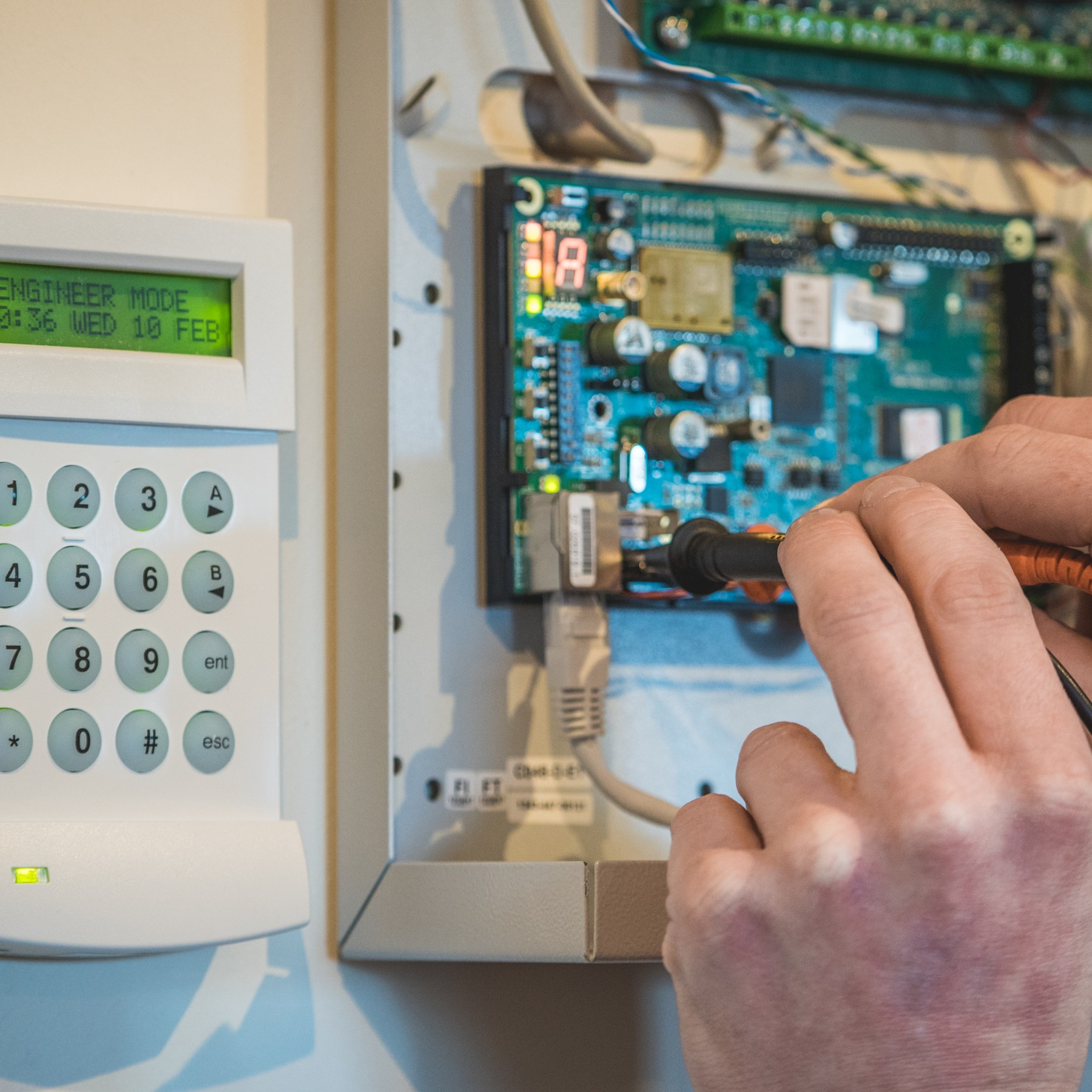 home alarm installers